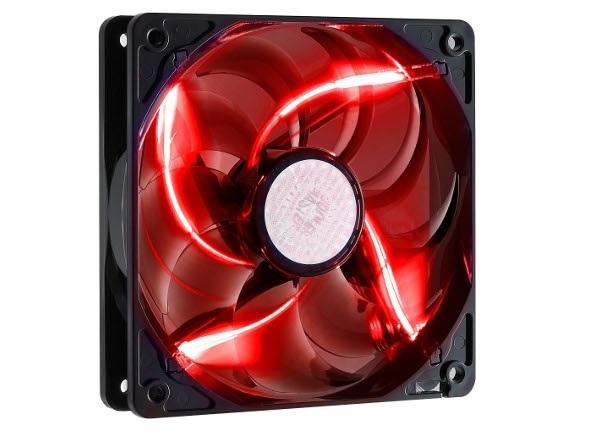 Cooler Master ventilátor SickleFlow, 120mm LED red