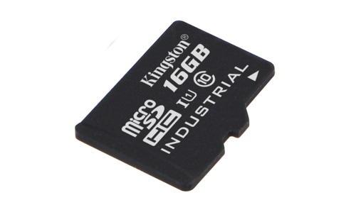 KINGSTON 16GB microSDHC UHS-I Class 10 Industrial Temp Card bez adaptéru, SDCIT/16GBSP