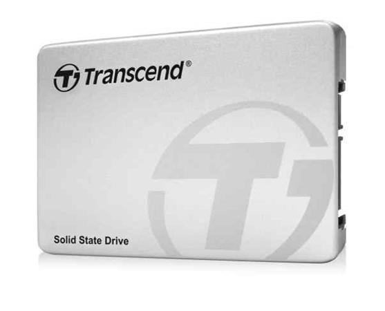 TRANSCEND SSD220S 240GB SSD disk 2.5'' SATA III 6Gb/s, TLC, Aluminium casing, stříbrný