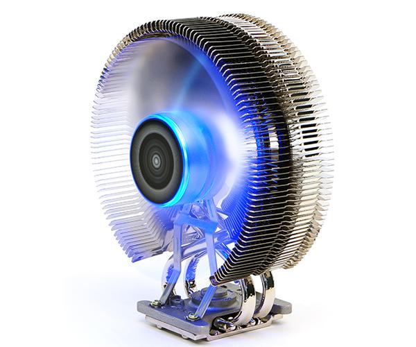 Zalman chladič CPU CNPS9800MAX, univ. socket, 120mm PWM blue led fan