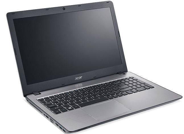 """Acer Aspire F 15 (F5-573-56GH) i5-6267U/4GB+4 GB/256GB SSD+N/DVDRW/Iris Graphics/15.6"""" FHD matný/W10 Home/Silver"""
