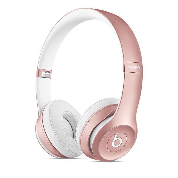 Apple Beats by Dr. Dre Solo 2 Wireless On-Ear Headphones - Rose Gold