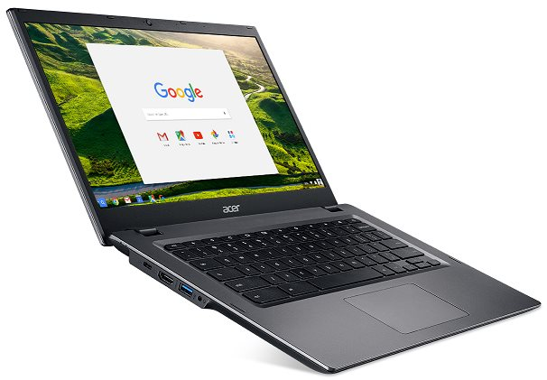 "Acer Chromebook 14 for Work (CP5-471-C2SU) Celeron N3855U/4 GB+N/A/eMMC 32GB+N/A/HD Graphics/14"" HD matný/BT/Google Chrome/Black"