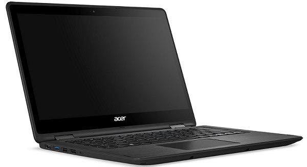 """Acer Spin 5 (SP513-51-7441) i7-7500U/8GB+N/512GB SSD M.2+N/HD Graphics/13.3"""" Multi-touch FHD/BT/W10 Home/Black"""