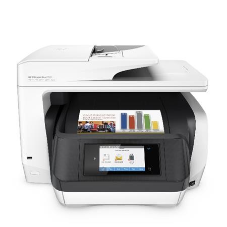 HP All-in-One Officejet Pro 8720 (A4, 24/20 ppm, USB 2.0, Ethernet, Wi-Fi, Print/Scan/Copy/Fax)