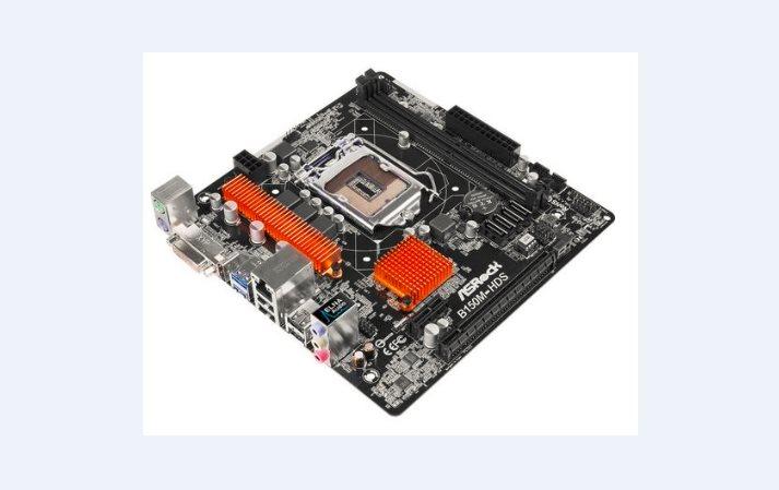 ASRock B150M-HDS, 1151, 2x DDR4 2133MHz, GLAN, 4xSATA3, USB3.0, DVI+HDMI, mATX