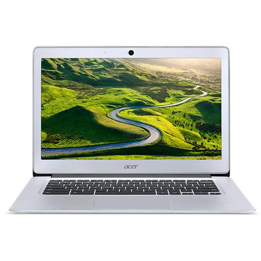 "Acer Chromebook 14 (CB3-431-C51Q) Celeron N3160/4GB+N/A/eMMC 32GB+N/A/HD Graphics/14"" HD matný/Google Chrome/Silver"