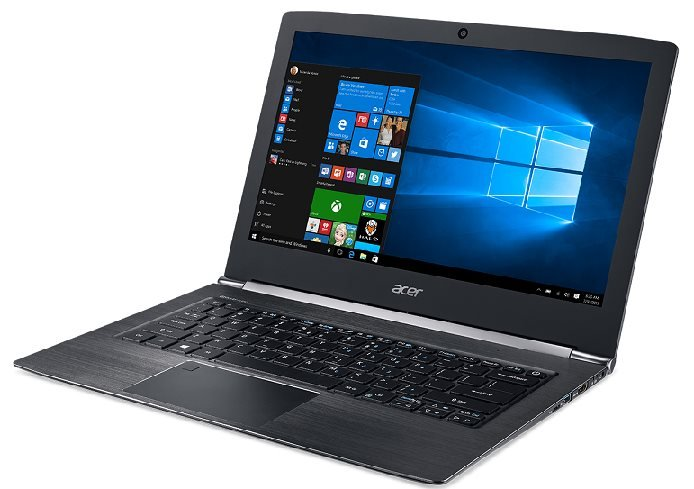 "Acer Aspire S 13 (S5-371-73UW) i7-7500U/8GB+n/a/256GB SSD M.2 + n/a/HD Graphics/13.3"" FHD/BT/W10 Home/Black"
