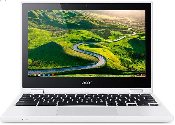 "Acer Chromebook R 11 (CB5-132T-C5RN) Celeron N3150/4 GB+N/eMMC 64GB+N/HD Graphics/11.6"" Multi-touch HD IPS/BT/Google Chrome White"