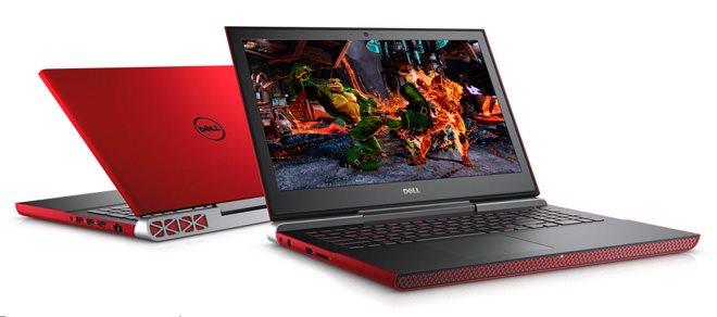 """DELL Inspiron 7566/i5-6300HQ/8GB/256GB SSD/4GB Nvidia 960M/15,6""""/FHD/Win 10 64bit,červený"""
