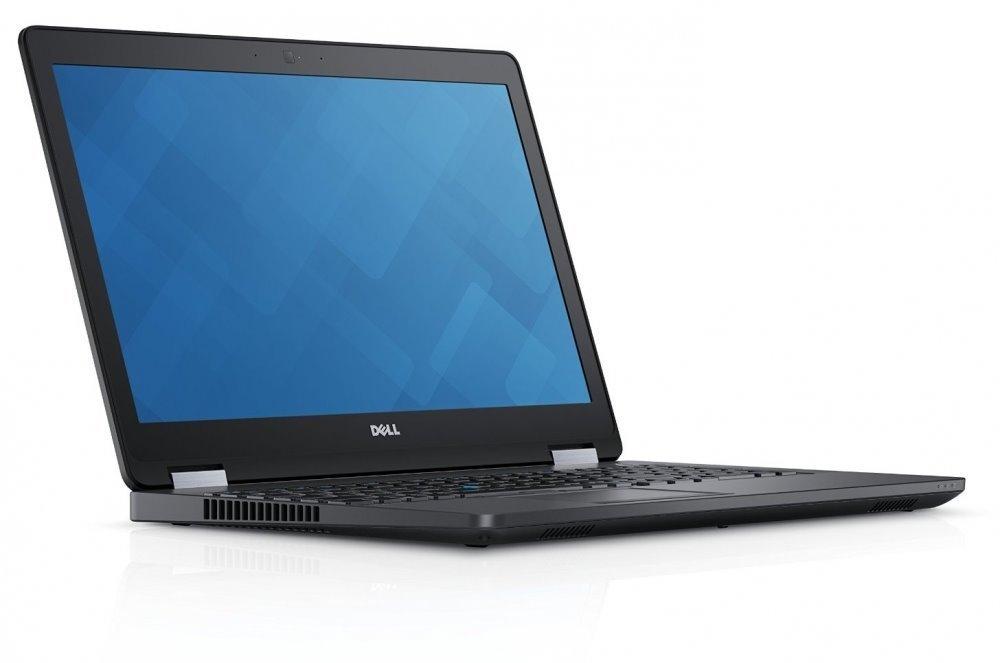 """DELL Latitude E5570/i7-6820HQ/8GB/256 GB SSD/Radeon R7 M370/15.6"""" FHD/Win 10Pro/Black"""