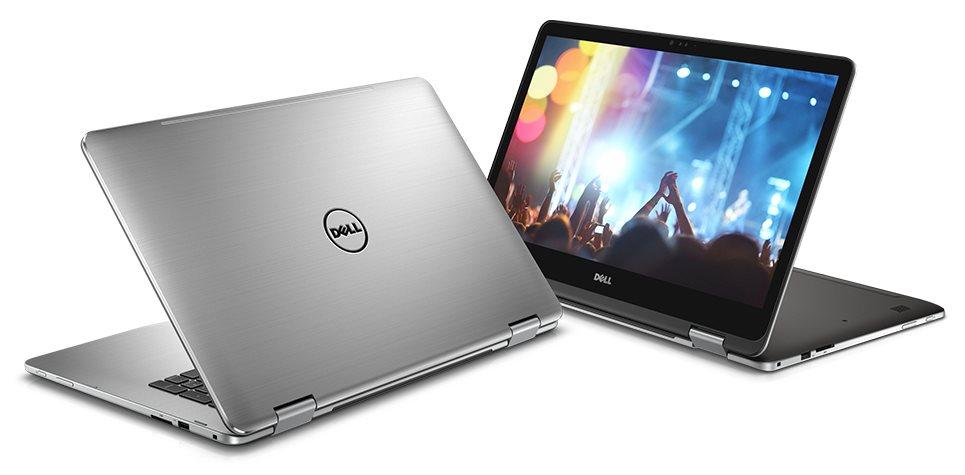 """DELL Inspiron 7779/i7-7500U/16GB/512GB SSD/17,3""""/FHD Touch/CAM/2GB Nvidia 940MX/Win 10 PRO/GREY"""