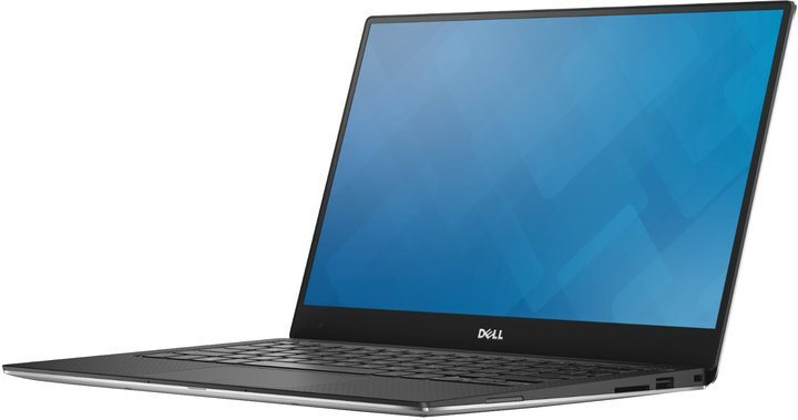 """DELL Ultrabook XPS 13 (9360)/i7-7500U/8GB/256GB SSD/Intel HD/13.3"""" FHD/Win 10 Pro/Silver"""