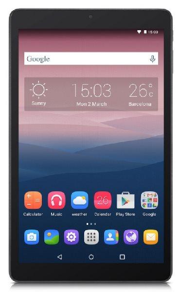 "Alcatel OneTouch PIXI 3/4x 1.3 GHz MT8127/10,1"" IPS/1200x800/1GB RAM/8GB/BT/Wifi/Android 5.0/Volcano Black"