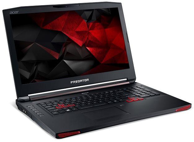 """Acer Predator 17 (G9-793-745S) i7-6700HQ/8GB+8GB+N+N/256GB SSD+1TB 7200rpm/DVDRW/GTX 1070 8GB/17.3""""FHD IPS matný/BT/W10 Home"""