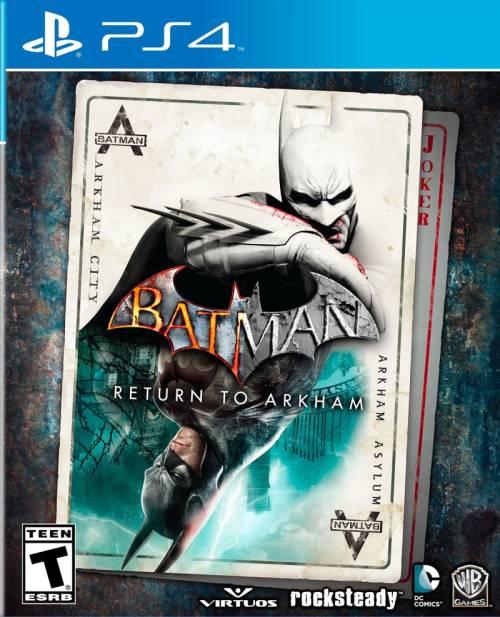 Warner Bros. PS4 Batman: Return To Arkham