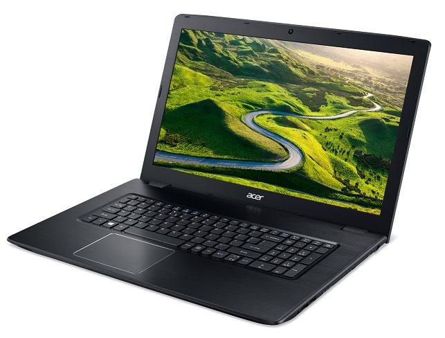 "Acer Aspire E 17 (E5-774G-5317) i5-7200U/8GB+N/1000 GB HDD+N/DVDRW/GeForce 940MX 2G-GDDR5/BT/17.3"" FHD matný/W10 Home/Black"