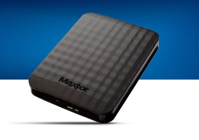 "Maxtor M3 Portable, 2TB externí HDD, 2.5"", USB 3.0, černý"