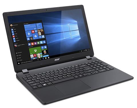 "Acer Extensa 15 (EX2519-C7YX) Celeron N3160/4GB+N/1TB+N/DVDRW/HD Graphics/15.6"" HD matný/BT/W10 Home/Black"