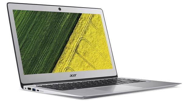 """Acer Swift 3 (SF314-51-36YZ) i3-6006U/4 GB+N/128GB SSD M.2+N/A/HD Graphics /14"""" FHD matný/W10 Home/Silver"""