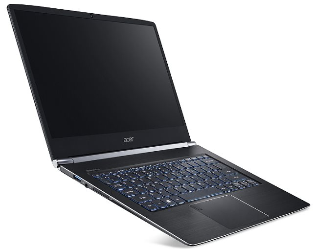 "Acer Swift 5 (SF514-51-773S) i7-7500U/8 GB+N/512GB PCIe SSD M.2+N/A/HD Graphics /14"" FHD lesklý IPS/W10 Home/Black"