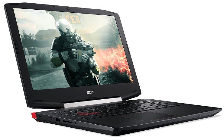 "Acer Aspire VX 15 (VX5-591G-55U9) i5-7300HQ/8 GB+N/256 GB PCIe SSD M.2+N/GeForce GTX 1050/15.6""FHD IPS LED mat/W10H/Bl"