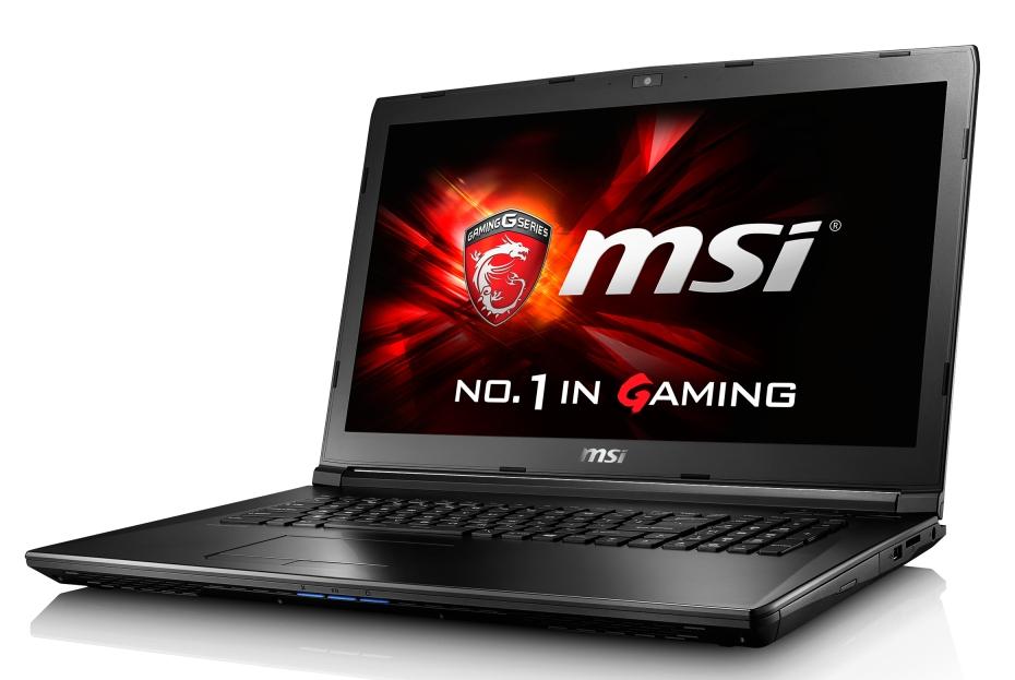 """MSI GL72 7RD-061CZ/i5-7300HQ Kabylake/8GB/1TB HDD 7200/DVDRW/ GTX 1050 2GB/17,3""""FHD/Win10"""
