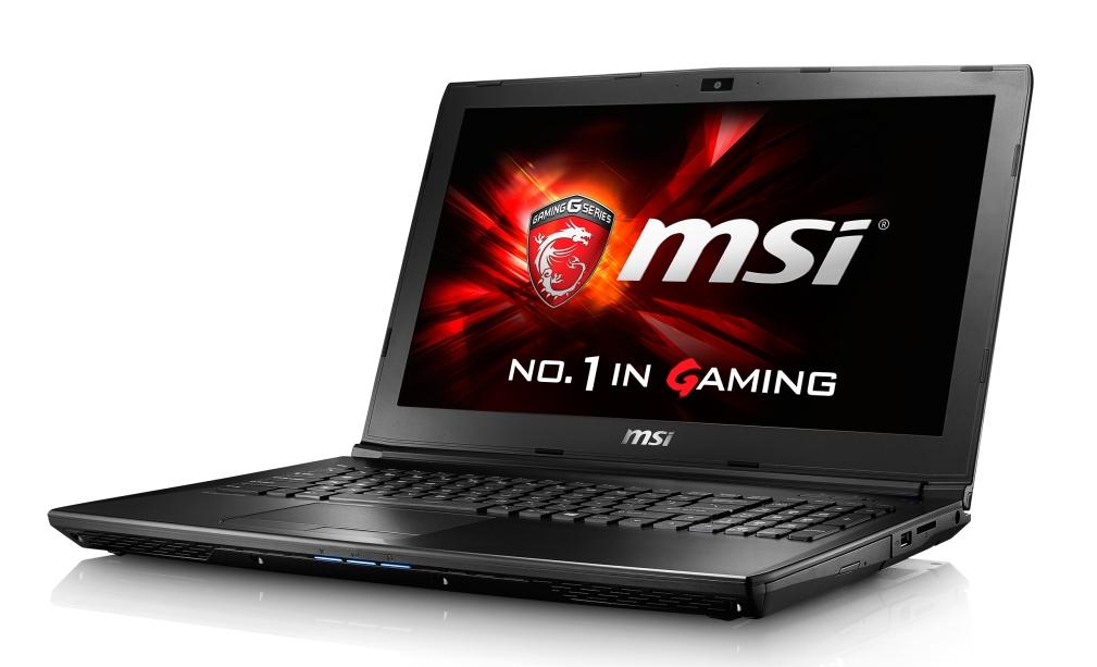 """MSI GL62 7RD-045CZ/i7-7700HQ Kabylake/8GB/1TB HDD 7200 ot./GTX1050 2GB/15.6"""" FHD/Win10"""
