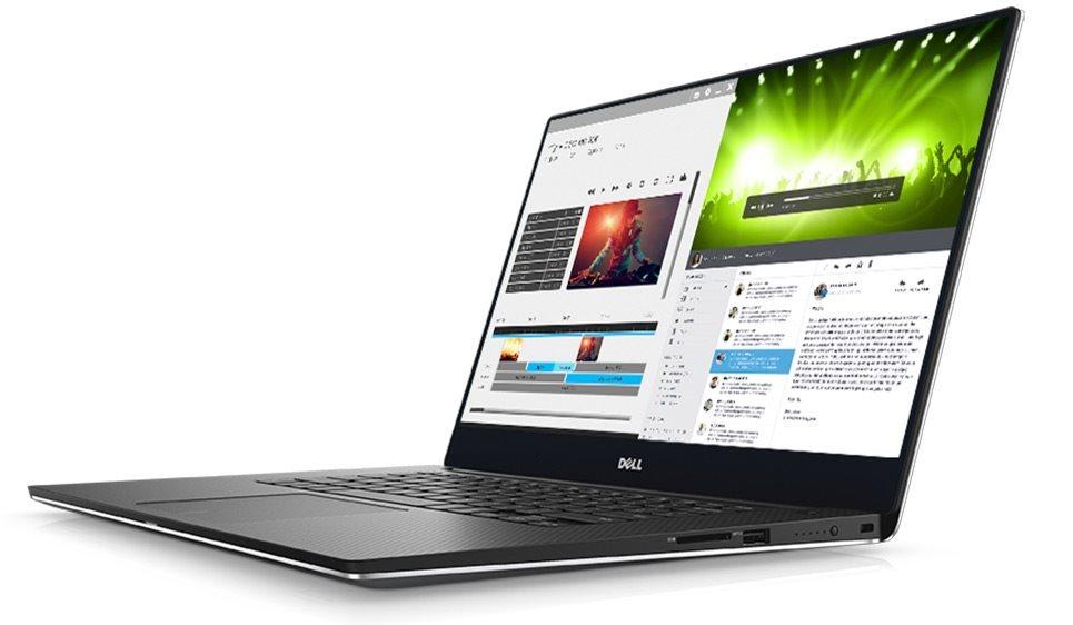"DELL XPS 15 (9560)/i7-7700HQ/16GB/512GB SSD/15,6"" UHD Touch/4GB Nvidia 1050/Win 10 Pro 64bit/Silver"