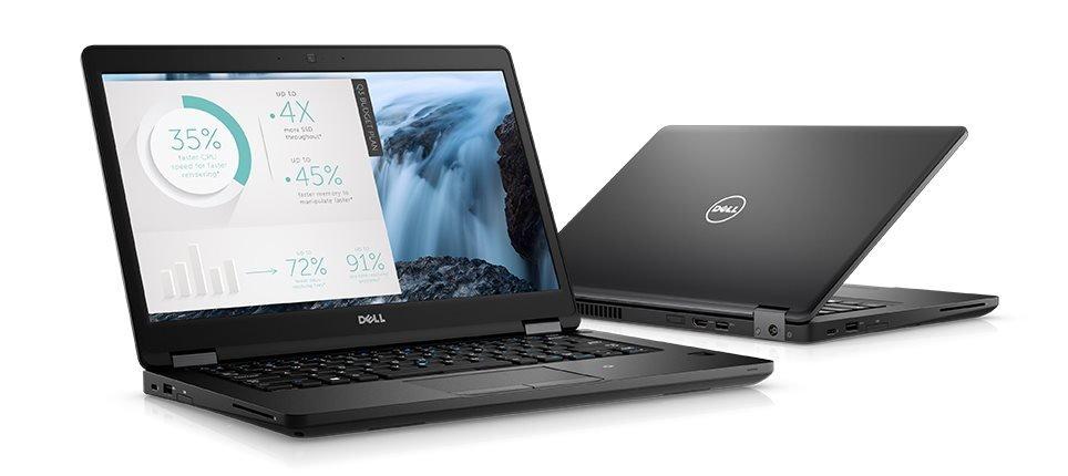 """DELL Latitude 5480/i5-7300U/4GB/500GB/Intel HD 620/14.0"""" HD/Win 10 Pro 64bit/Černá"""
