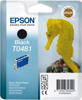 EPSON cartridge T0481 black (mořskýkoník)