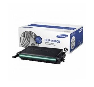 Samsung toner černý CLP - K660B pro CLP-610 - 5500 stran