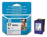 HP C6657GE Ink Cart No.57 pro DJ 5550, PS 7x50, 7x60, 4,5ml, Color