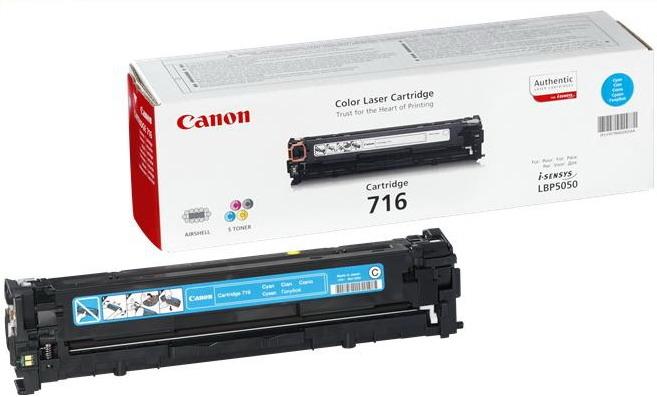 Canon toner cart. CRG-716C cyan (CRG716C)