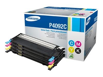 Samsung sada tonerů (CMYK) CLT-P4092C pro CLP-310/315/CLX-3170/3175 - 1500/1000 str.