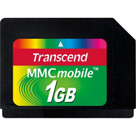 Transcend 1GB MMCmobile multimedia memory card
