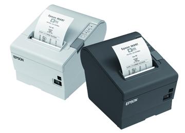 EPSON TM-T88V-833 - černá/USB/paralel/zdroj/řezačka/EU kabel