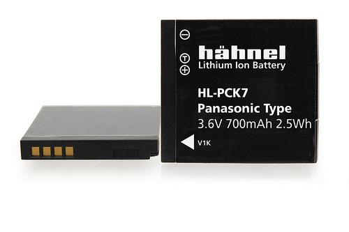 Hähnel HL-PCK7 - Panasonic DMW-BCK7E, 3.6V 700mAh 2.5Wh