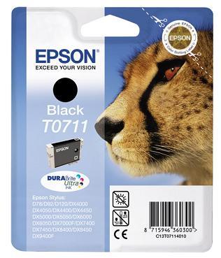 EPSON cartridge T0711 black (gepard)