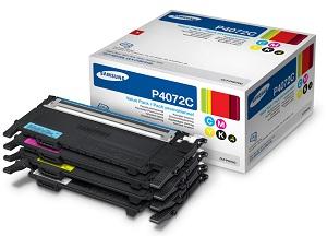 Samsung toner CLT-P4072C/ELS pro CLP-320/325,CLX-3185 - sada barev CMYK