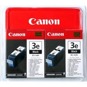 Canon cartridge BCI-3E Bk Black TWIN PACK (BCI3EBK)