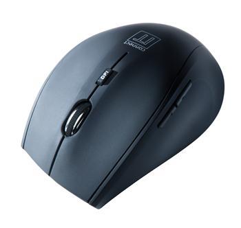 CONNECT IT bezdrátová optická myš, černá matná
