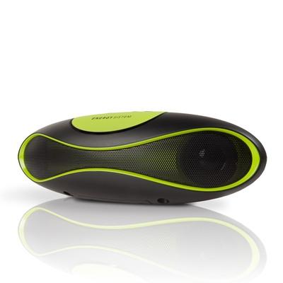 ENERGY Music Box Z220 Sport Black & Green, přenosný stereo systém s FM rád. MP3 přehrávač.,USB,SD/SDHC/MMC