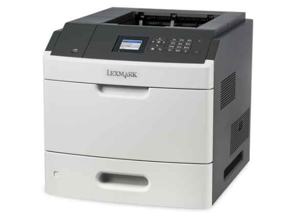 Lexmark MS811dn mono laser, 60 str./min., duplex, síť, barevný LCD