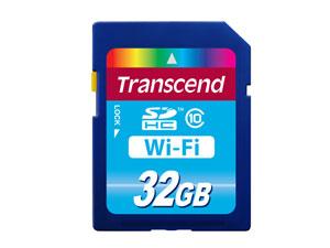 Transcend 32GB WIFI SDHC (Class 10) paměťová karta