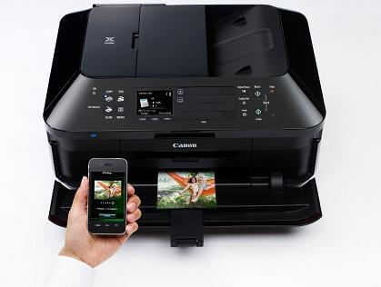 Canon PIXMA MX925 - PSCF/Wi-Fi/LAN/PotiskCD/Duplex/DADF/9600x2400/USB/PictBr