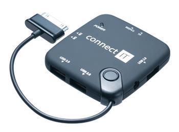 CONNECT IT čtečka karet a USB hub pro Samsung Galaxy Tab