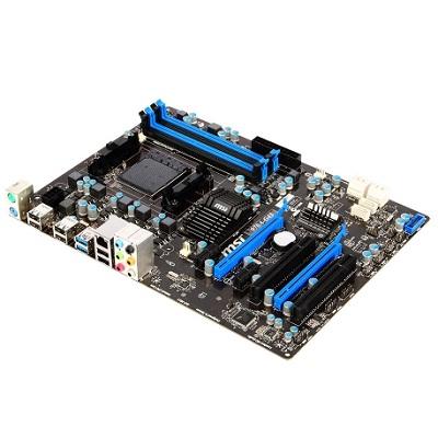 MSI 970A-G43, AM3+, AMD970, 4xDDR3, 2xPCIe16, GL, 8CH, USB3.0