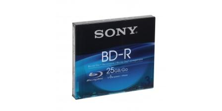 SONY 3x25GB BLU-RAY -R Recordable Slim