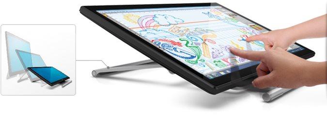 "DELL S2240T Touch LCD22"" WLED 12ms/3000:1/Full HD/VGA/DVI/HDMI/USB/VA panel/cerny"